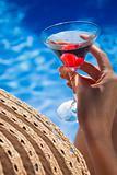 Poolside Martini