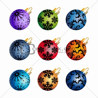 Xmas balls