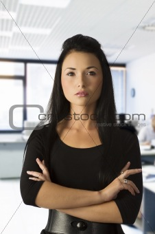 asian office worker
