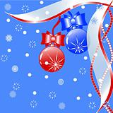 vector Illustration of a beautiful Christmas backgroun