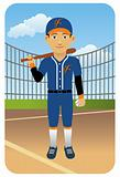 Sport Cartoons: Baseball Player