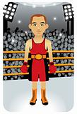 Sport Cartoons: Boxer