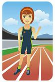 Sport Cartoons: Runner