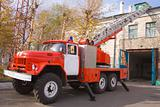 RED FIRE ENGINE ZIL