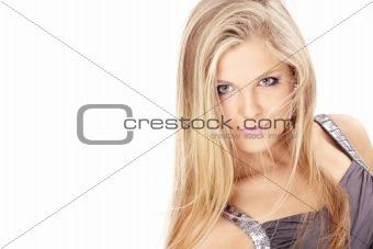 Portrait of blonde