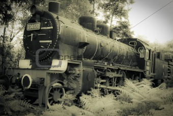 old engine locomotive