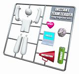 Instant Team Leader - Snap Together Model Kit