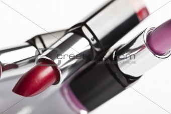 Lipsticks background