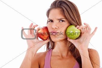 green apple vs red apple