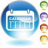 Date Calendar Crystal Icon