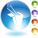 Chinese Food Crystal Icon