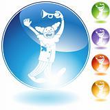 Clown Crystal Icon