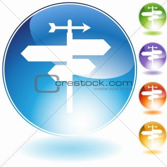 Crossroads Crystal Icon