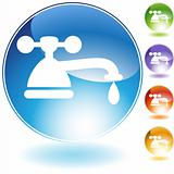 Faucet Crystal Icon