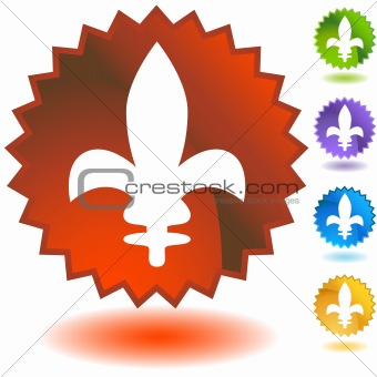 Fleur Icon Badge