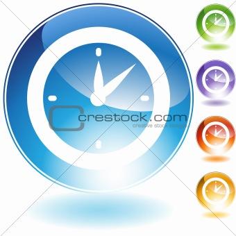Clock Timer Crystal Icon