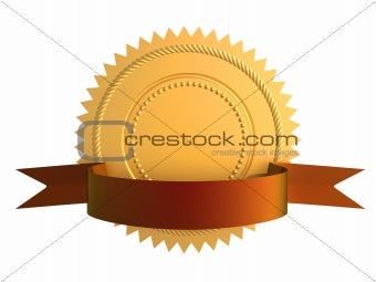 Guarantee gold seal