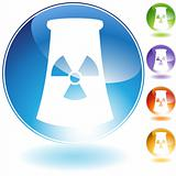 Nuclear Powerplant Crystal Icon
