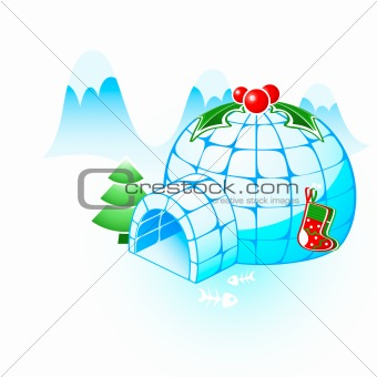 Christmas igloo