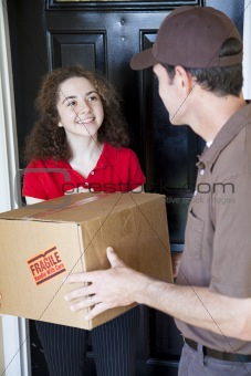 Receiving Home Delivery