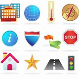 City Navigation Icons