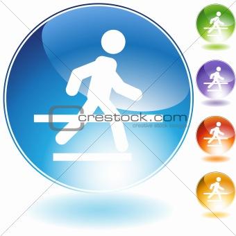 Crosswalk Crystal Icon