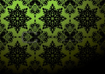 green wallpaper blend