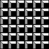 Construction pattern black