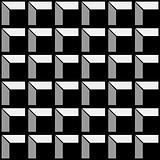 Construction pattern black