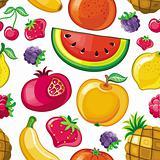 Seamless Juicy fruit texture