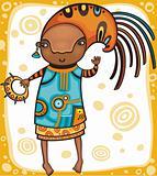 Ethnic girl 1