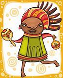 Ethnic girl 3