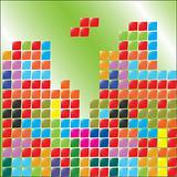 color blocks, tetris