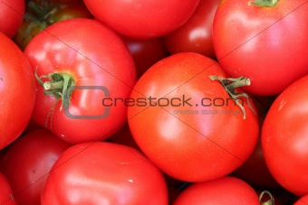 Background of tomato. Close-up