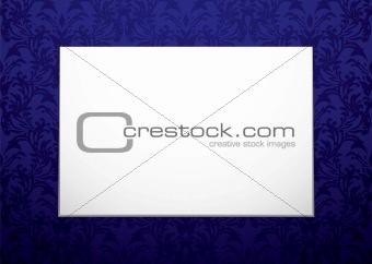 blank canvas on purple