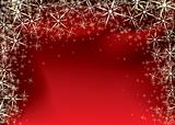 christmas red star