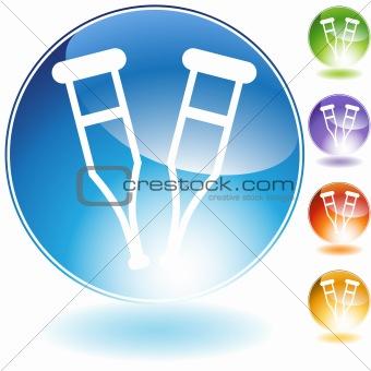 Crutch Crystal Icon