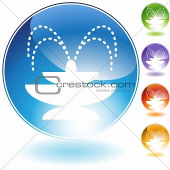 Fountain Crystal Icon