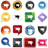 Wheelbarrow Icon Set