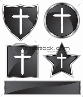 Black Satin - Cross