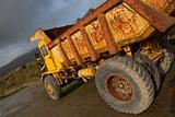 Tipper truck at a mine