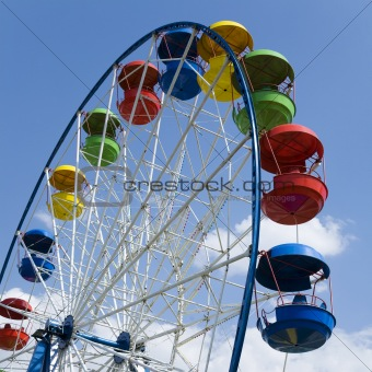 Fairground wheel