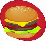 Hamburger fastfood