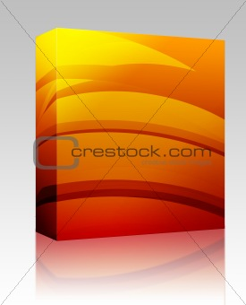 Abstract wallpaper background box package