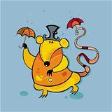 Rainy rat