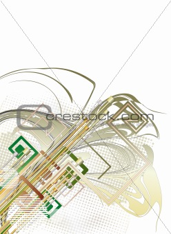 Abstract technology background