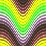 Glowing neon lines