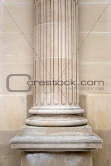 Old Stone Column