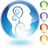 Healthy Mind Crystal Icon