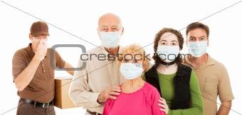 Family Avoids the Flu